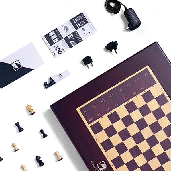Square Off Chess Board - GRAND KINGDOM Chess Set