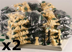 Standard Chess Sets 40-Pack (up to 80 players) - Chess Set - Chess-House