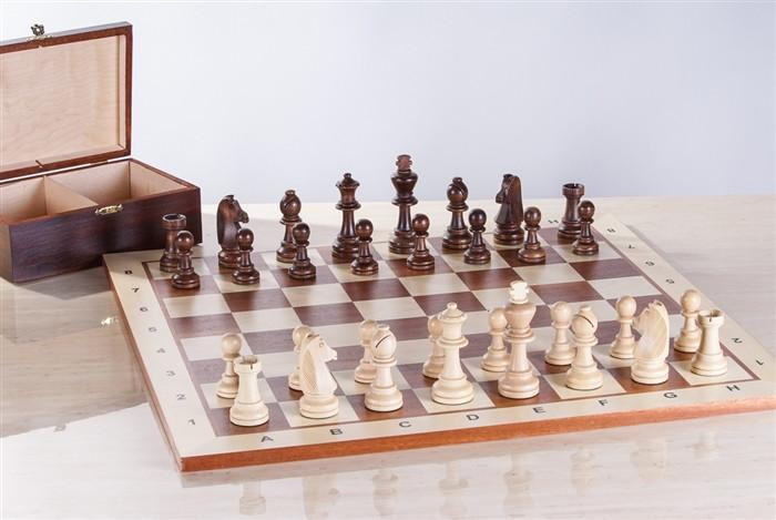 Starter Wooden Chess Set and Box Combo