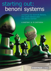 Starting Out: Benoni Systems - Raetsky - Book - Chess-House