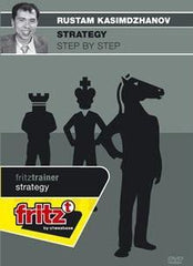 Strategy Step by Step - Kasimdzhanov - Software DVD - Chess-House