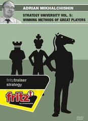 Strategy university vol 5: Winning Methods of great players - Mikhalchishin - Software DVD - Chess-House
