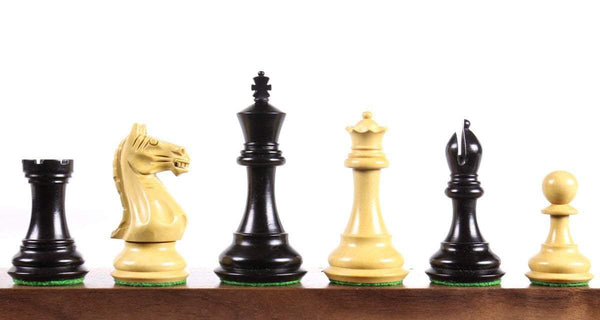 "Supreme 3.75"" Ebonized Chess Pieces Piece"