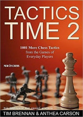 Tactics Time 2 - Brennan - Book - Chess-House