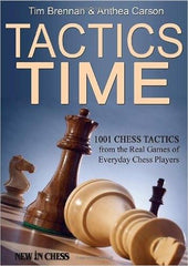 Tactics Time - Brennan - Book - Chess-House