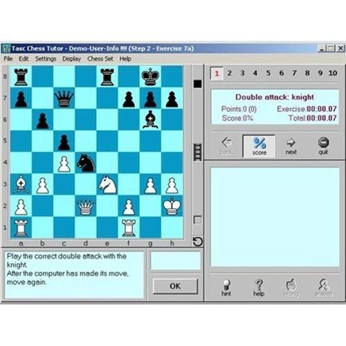 TASC Chess Tutorial 2 For PC (CD) FREE WITH ORDER - Software - Chess-House