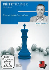 The 4...Nf6 Caro-Kann - Davies - Software DVD - Chess-House