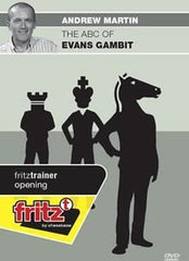 The ABC of Evans Gambit - Martin - Software DVD - Chess-House