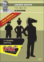 The ABC of the Alekhine, 2nd Edition (DVD) - Martin - Software DVD - Chess-House