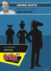 The ABC of the Anti-Dutch - Martin - Software DVD - Chess-House
