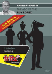 The ABC of the Ruy Lopez (2nd edition) - Martin - Software DVD - Chess-House