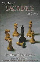 The Art of Sacrifice in Chess - Spielmann - Book - Chess-House