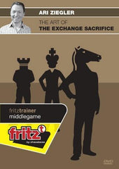 The Art of the Exchange Sacrifice - Ziegler - Software DVD - Chess-House
