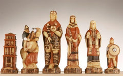 The Battle of Hastings Chess Pieces - SAC Hand Decorated - Piece - Chess-House