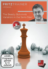 The Beasty Botvinnik Variation in the Semi-Slav! - l'Ami - Software DVD - Chess-House