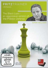 The Black Lion-An Aggressive Version of the Philidor Defense - Williams - Software DVD - Chess-House