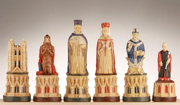 The Canterbury Cathedral Chess Pieces - SAC Hand Decorated - Piece - Chess-House