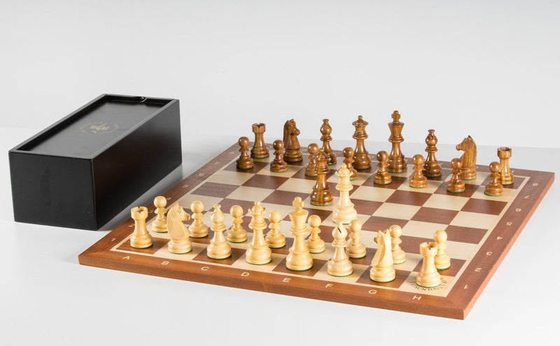The Championship Chess Set and Board Combination