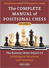 The Complete Manual of Positional Chess Vol. 2 - Sakaev - Book - Chess-House