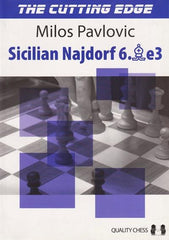 The Cutting Edge 2: Sicilian Najdorf 6.Be3 - Pavlovic - Book - Chess-House