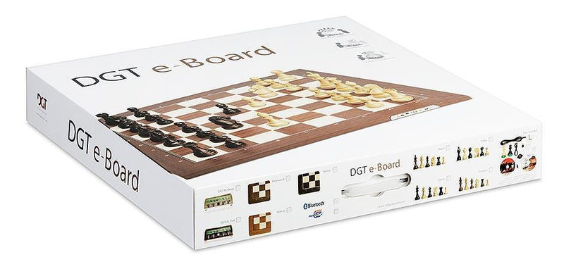 The DGT Electronic Chessboard USB & Bluetooth (Board only without pieces)