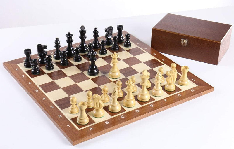 The French Series Chess Set Combo with Storage