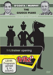 The Giuoco Piano Master & Amateur - D'Costa / Murphy - Software DVD - Chess-House