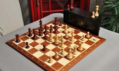 The Grandmaster Chess Set and Board Combination - Chess Set - Chess-House