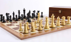 The Grandmaster Chess Set Combo with Storage Chess Set