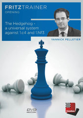 The Hedgehog: A universal system against 1.c4 and 1.Nf3 - Pelletier - Software DVD - Chess-House