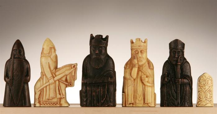 The Isle of Lewis Chess Pieces - SAC