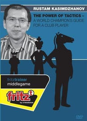 The Power of Tactics - World Champion's Guide for a Club Player (DVD) Kasimdzhanov - Software DVD - Chess-House