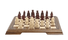 The Red Isle of Lewis Antiqued Chessmen - Piece - Chess-House