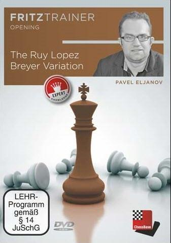 The Ruy Lopez Breyer Variation - Eljanov - Software DVD - Chess-House