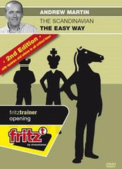The Scandinavian Easy Way (2nd edition) - Martin - Software DVD - Chess-House