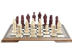 The Sherlock Holmes Chess Pieces - SAC Antiqued Piece
