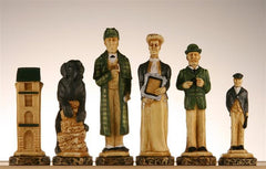 The Sherlock Holmes Chess Pieces - SAC Hand Decorated - Piece - Chess-House