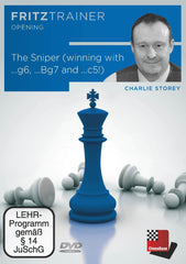 The Sniper: Winning with ...g6, ...Bg7 and ...c5! - Storey - Software DVD - Chess-House