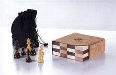 The STACK Championship Set in Rosewood - Chess Set - Chess-House