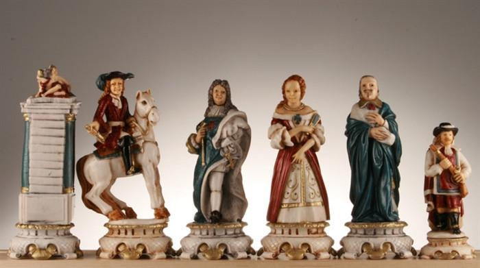 The Sun King Louis The XIV Chess Pieces