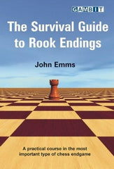 The Survival Guide to Rook Endings - Emms - Book - Chess-House