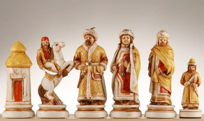 The Tzar, Ivan The Great Chess Pieces