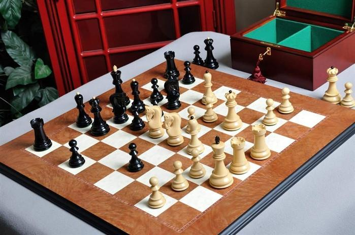 The Zagreb '59 Series Chess Set and Board Combination