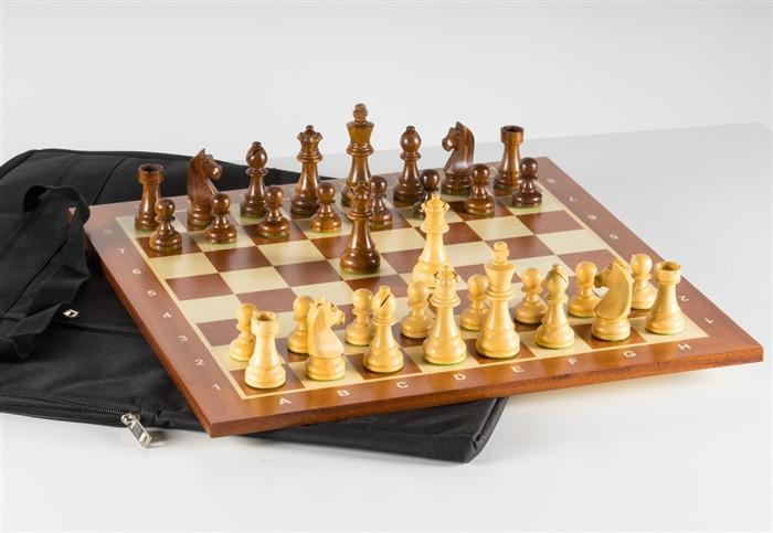 Timeless Chess Set and Bag Combo