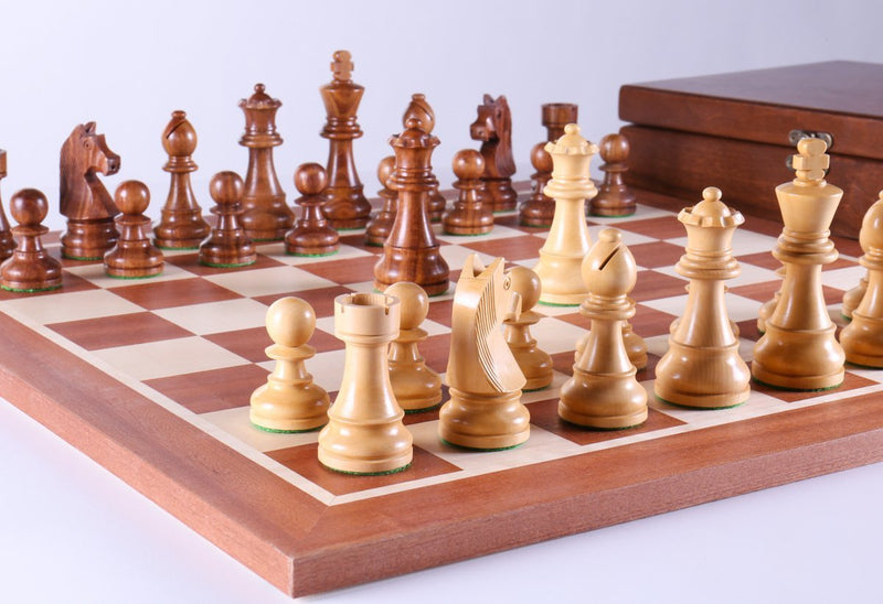 Timeless Chess Set With Storage Box