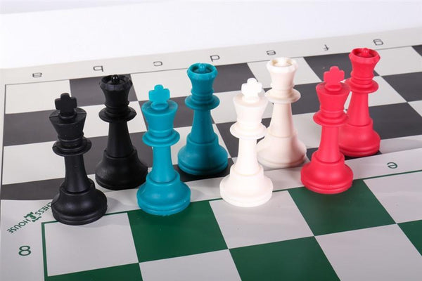 Two Multi-Color Silicone Chess Set Combos - Chess Set - Chess-House