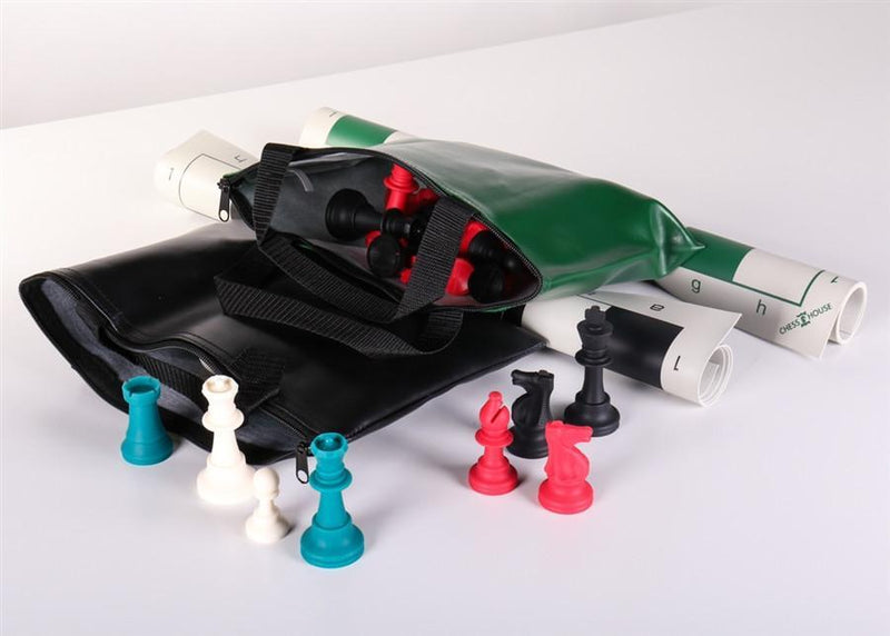 Two Multi-Color Silicone Chess Set Combos
