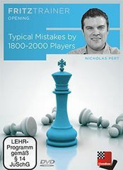 Typical Mistakes by 1800-2000 Players - Pert - Software DVD - Chess-House