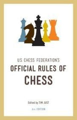 U.S. Chess Federation's Official Rules of Chess, 6th Ed. - USCF - Book - Chess-House