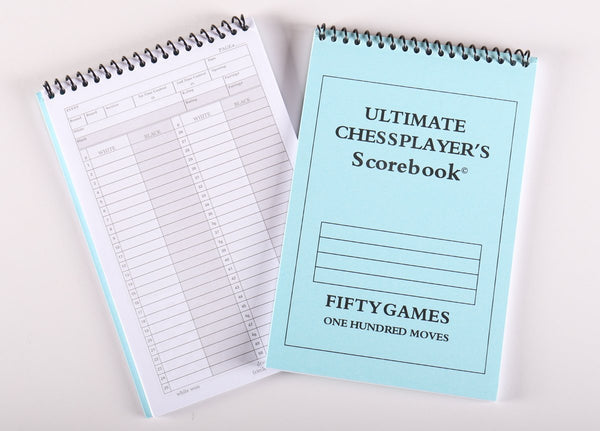 Ultimate Scorebook - 50 Games - Book - Chess-House